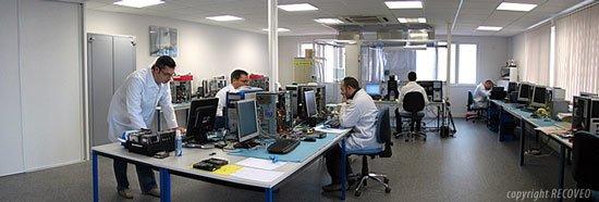 Salle récupération de données